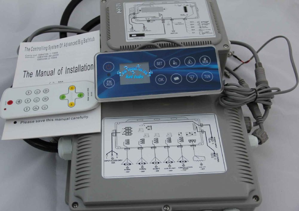 GD-800 Chinese Control Pack - Complete System